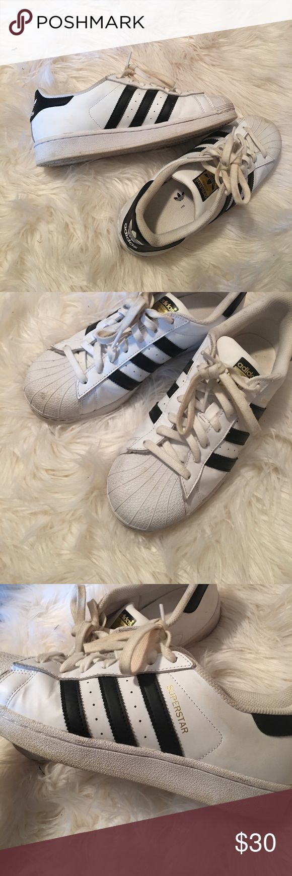 Adidas Superstars ✔️trades are available, only fair pricing  ✔️if posted, item is available  ✔️no holds, or drama ✔️make an offer, will most likely accept!  ✔️ all items are in new or great condition adidas Shoes Sneakers