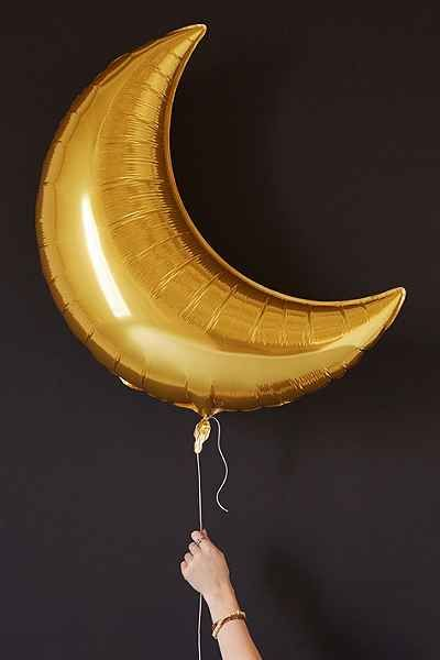 Gold Moon Balloon Set - Urban Outfitters                                                                                                                                                                                 More