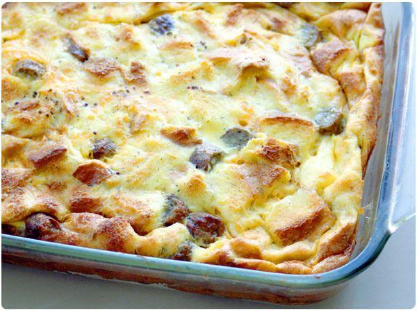 egg-strata2 | Breakfast Recipes | Pinterest