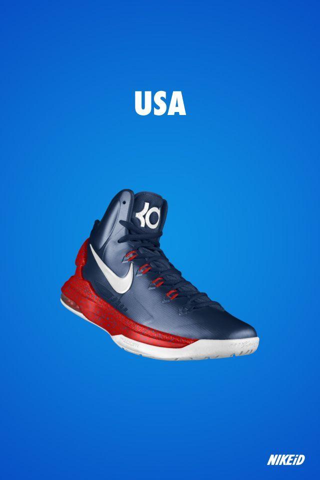 Kevin durant shoes 2013 KD V USA
