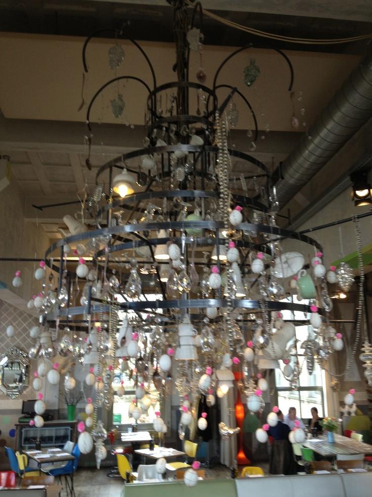 Lamp @ Villa Augustus, Dordrecht