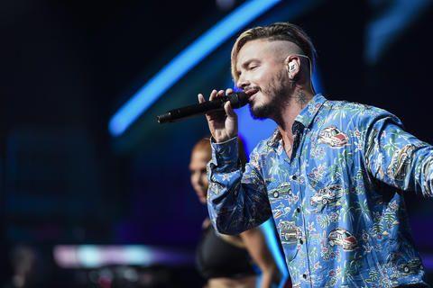 J Balvin - Ensayos día 2 Premios Billboard 2017