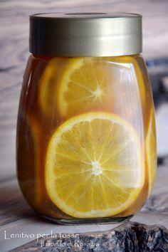 Lenitivo per la tosse, preparato naturale composto da Zenzero, Miele e Arance che calmano il pizzicore e il mal di gola, cause principali della tosse...