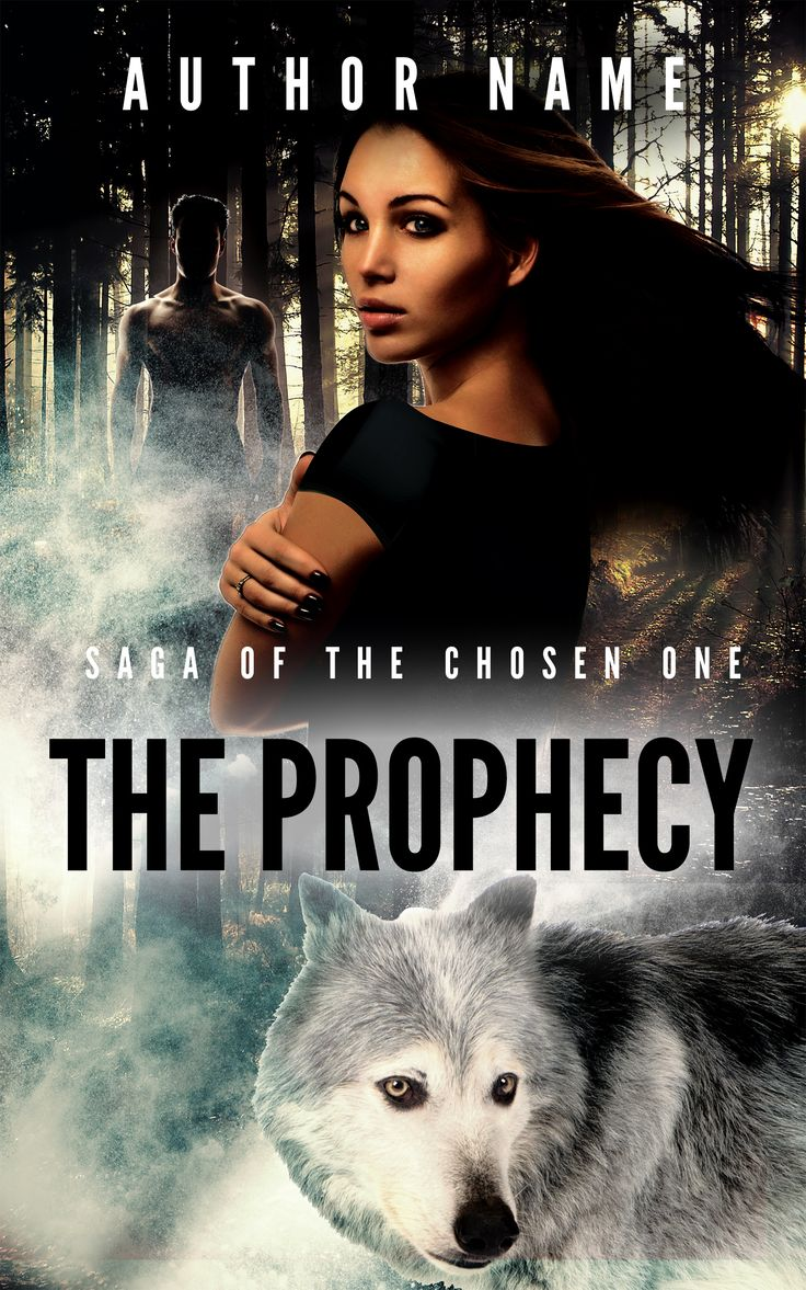 The Prophecy Saga Of The Chosen One Professional Premade Supernatural  Fantasy Ebook Cover Design