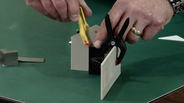 Join modeler Gerry Leone as he shares tips for using a variety of clamps in your workshop to assist you in gluing model railroad structures together.