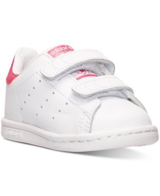 adidas Toddler Girls\u0027 Stan Smith Casual Sneakers from Finish Line