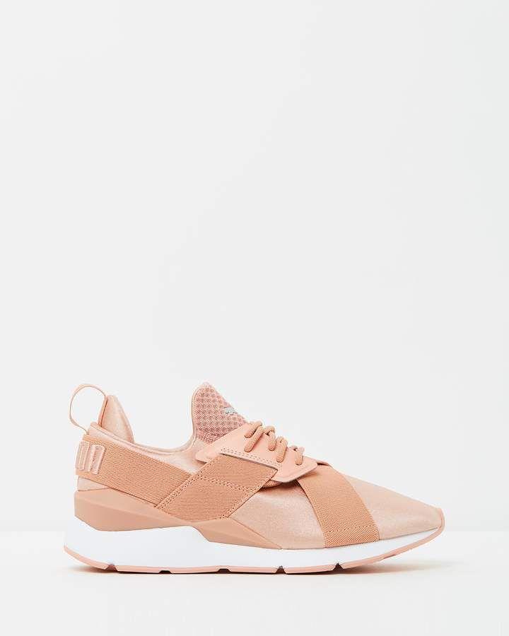 Dual X Strap Satin En Pointe Women's | Buy womens sneakers