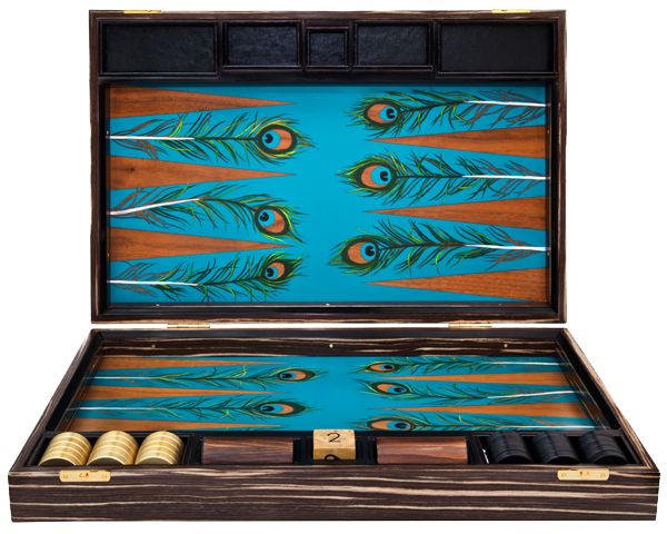 Would love a Peacock Backgammon Set. Hint hint