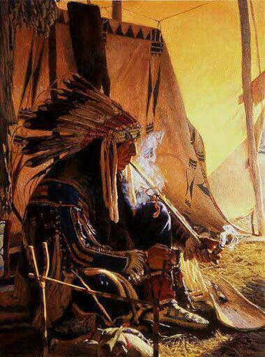 Native Americans Indians by david yorke
