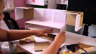 Manualidades: maletín de maquillaje con material reciclado - Juancarlos960…
