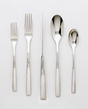 Best 25 modern flatware ideas on pinterest cutlery set modern wedding present cutlery and - Contemporary stainless flatware ...