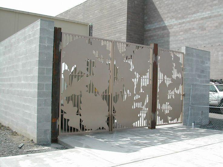 Trash Enclosure Gate Lancaster Mall Salem Oregon