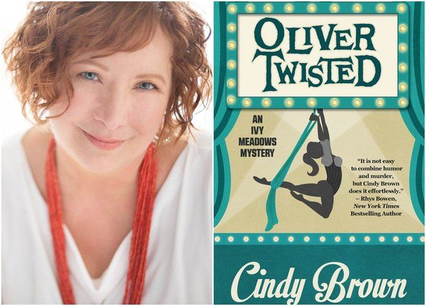Cindy Brown is a local author.