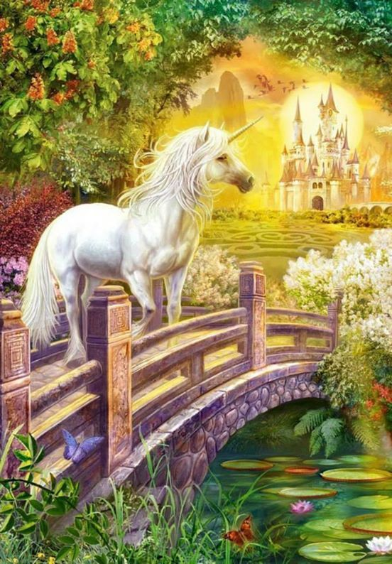 unicorn..what a beautiful Spring Day..