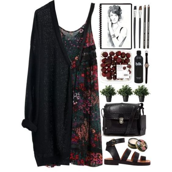 Beautiful boho dresses for college girls 13
