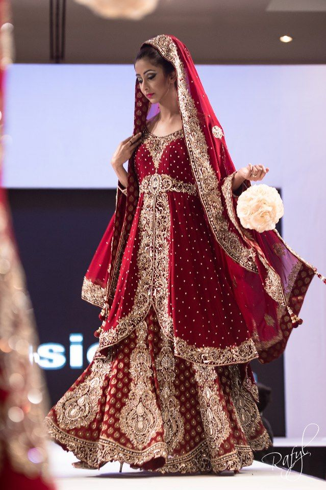 Wedding dress for Indian/Pakistani Bride. #wedding #bridaldress See more at Pinterest #@snapchamp