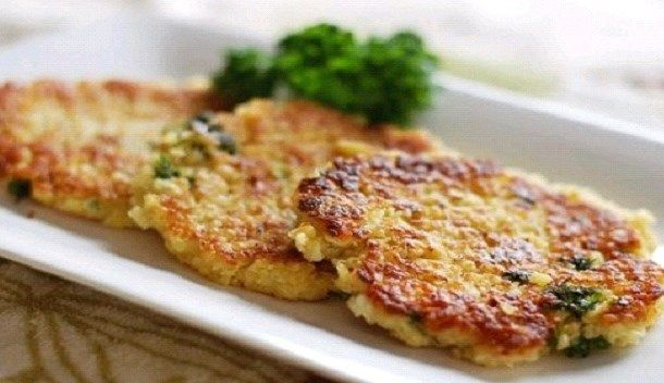 4th of July Vegan Cauliflower Cheese Patties Recipe - form balls for apps?