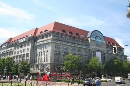KaDeWe- Kaufhaus des Westens. The largest department store in Continental Europe. I'm down to clown for this place.