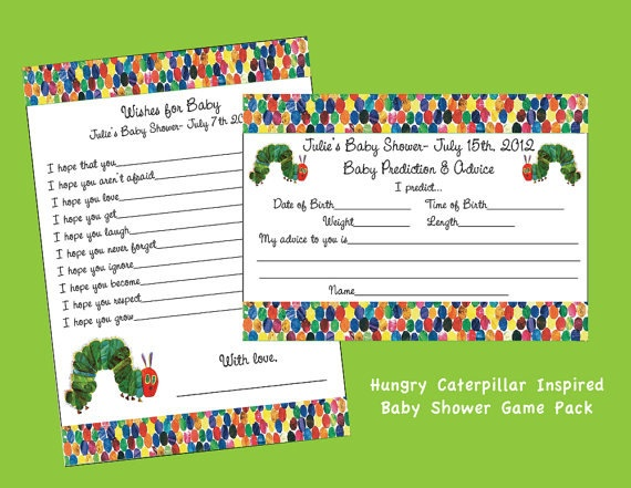 17 best images about hungry caterpillar baby shower on pinterest, Baby shower invitations