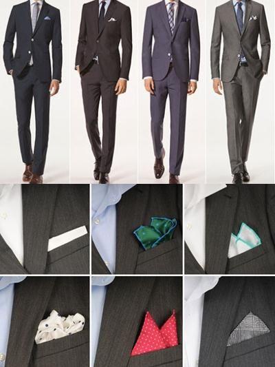 Corbatas y pañuelos! El toque chic para tu traje