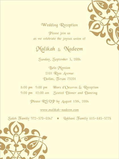 The 25+ best Hindu wedding invitation wording ideas on Pinterest - marriage invitation letter format