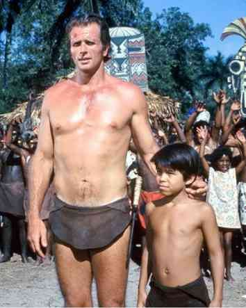 Ron Ely as Tarzan & Manuel Padilla Jr. as Jai - oh how I loved to watch this on Saturday afternoons!
