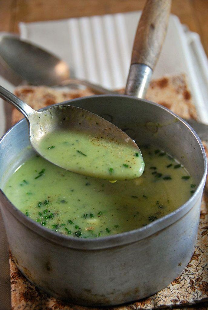 Recette soupe de courgette froide