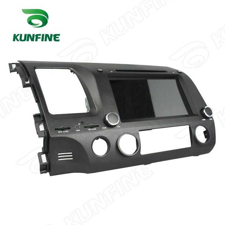 Quad Core 1024*600 Android 5.1 Car DVD GPS Navigation Player Car Stereo for CIVIC (left) 2006-2011 3G/Wifi Bluetooth //Price: $309.63//     #electonics