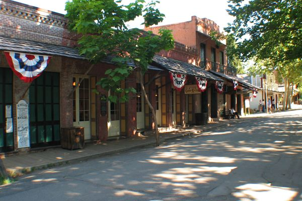 Columbia California  An Old West town about 30 miles from Groveland