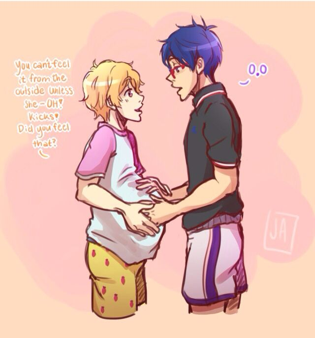 ReiGisa 7 - feel the baby moves