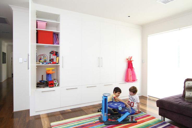 Creative by Design can design storage solutions for your kiddies things too.