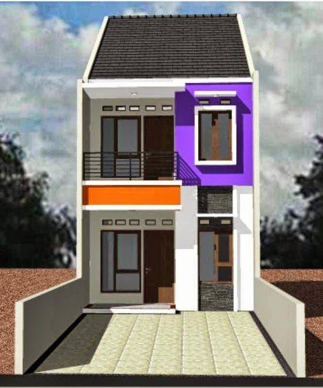 30+ Ide Keren Gambar Rumah Minimalis 2 Lantai Type 21 ...
