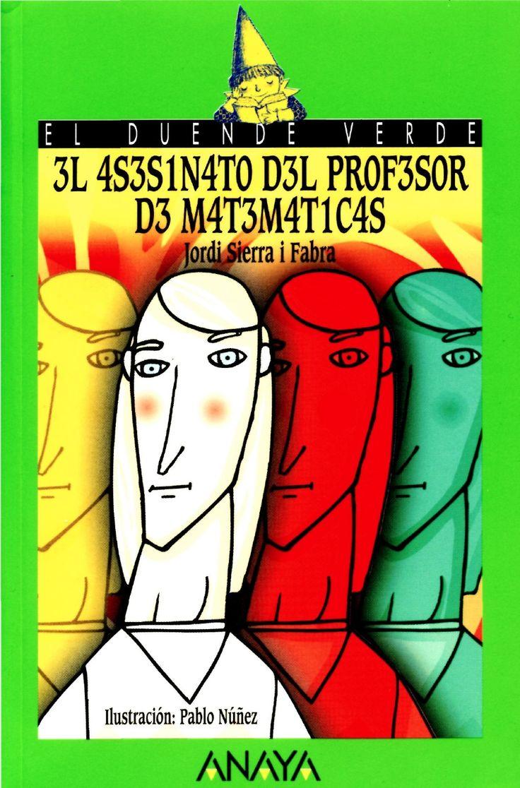 Jordi sierra   el asesinato del profesor de matematicas by Secundaria Cardenas via slideshare
