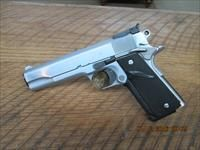 COLT CUSTOM 70 SERIES 45 ACP GOVERNMENT MODEL HARD CHROME FINISH.  Guns > Pistols > Colt Automatic Pistols (1911 & Var)