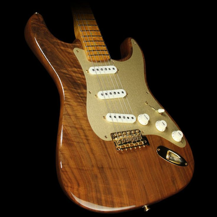 Fender Custom Shop Artisan Stratocaster Electric Guitar Claro Walnut