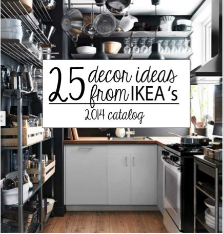 25 Cool Decorating Tricks from the IKEA 2014 Catalog