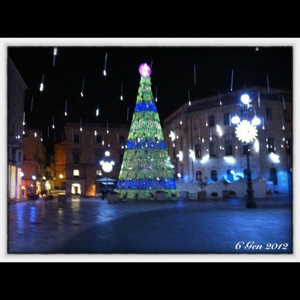 Lecce (Apulia, Italy) in Christmastime