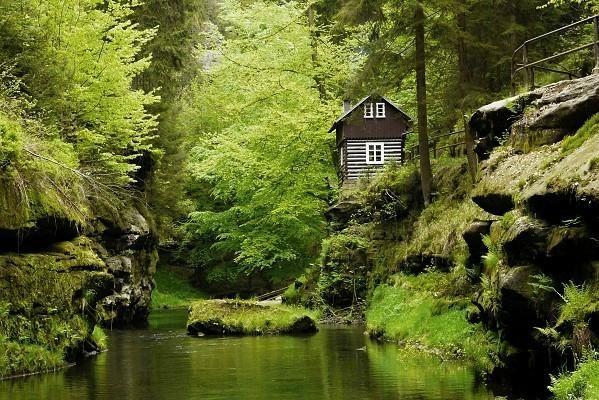 **Wild Gorge - Hrensko, Czech Republic