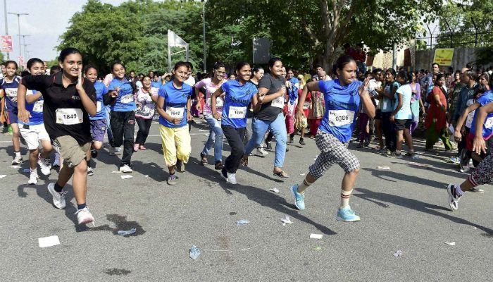2nd Women Marathon organised by vedanectar.com Day In Pics: July 2, 2015 | Focus News