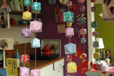 Origami Ballon Garland