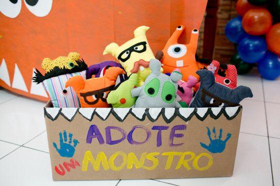 Festa Infantil | Oficina de Monstros | Vestida de Mãe | Fernanda Floret | Blog sobre Bebês e Mamães