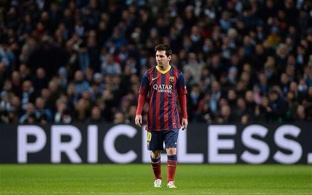 Lionel Messi na carreira:  534 jogos 408 gols 163 assistências 4 Bolas de Ouro 23 títulos