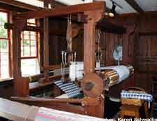 Weaving shop Greenfield Village