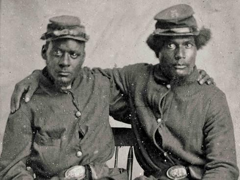 """an overview of the black soldiers in the union army during the american civil war """"i knew the yanks were going to win, from the beginning in the union army, january 1 on the african american experience in the civil war."""