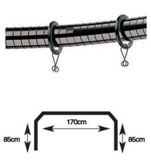 Curtain Rods 5 sided bay window curtain rods : 1000+ Ideen zu Bay Window Curtain Poles auf Pinterest | Erkerfenster