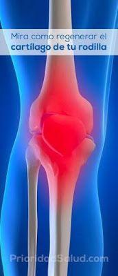 Regenera el cartilago de tus rodillas, tus huesos y articulaciones en una semana.