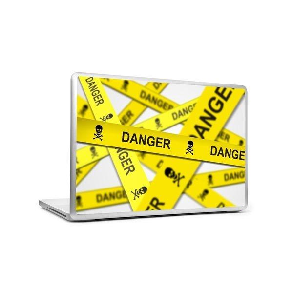 Danger Keey away - Laptop skin
