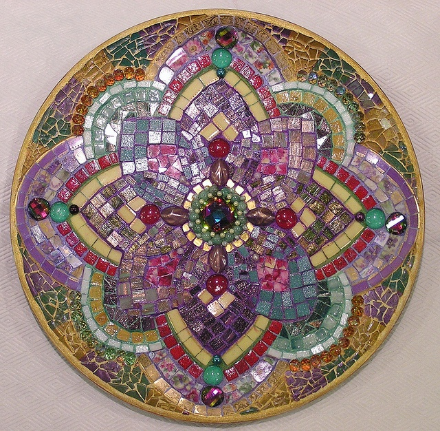 mandala for Piecemakers Challenge by PalsCreations, via Flickr