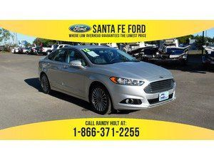 Awesome Ford: 2016 Ingot Silver Ford Fusion Titanium 36950P...  Ford Fusion