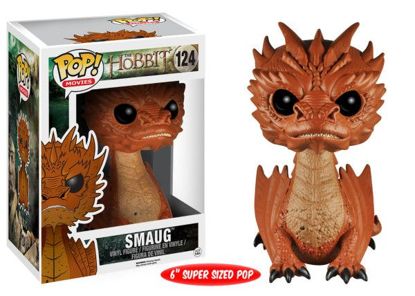 """The third film is almost upon us and interest and fan following for the movie series has grown with each film, since the initial offering in late 2012. Funko are bringing us 2 more characters, central to the whole mythos and at last a fantastic Smaug who is oversized at 6"""". The Smaug POP! vinyl figure stands around 15cm tall. POP! vinyl has been the collector's sensation of the last few years. Pac"""